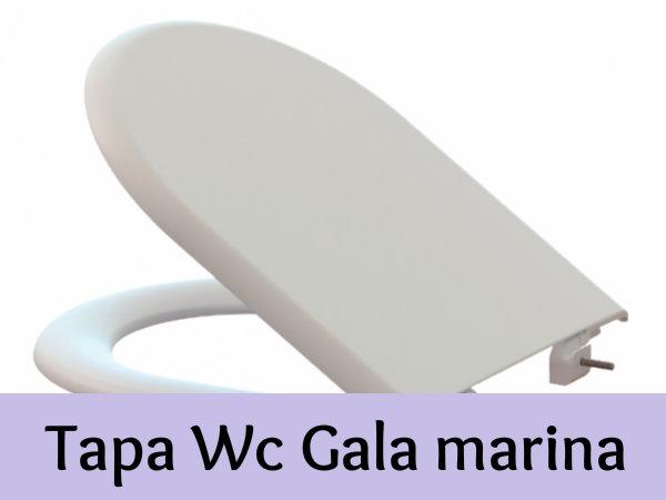 Tapa wc gala marina elegancia y comodidad para vuestro for Tapa gala marina